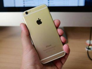 Apple IPhone 6 Gold 64GB O2 GiffGaff With Warranty