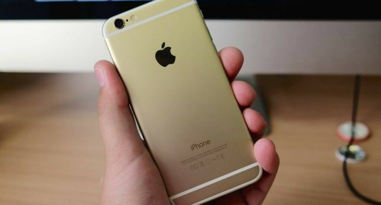 Apple IPhone 6 Gold 64GB O2 GiffGaff With Warranty