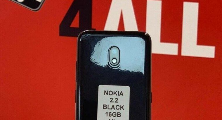 NOKIA 2.2 BLACK 16GB UNLOCKED WITH WARRANTY