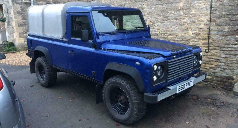 Fully restored td5 110 Defender pickup