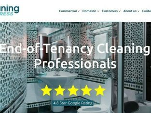 End of tenancy cleaning professionals. Deep cleaning, building cleans. 100% satisfaction guaranteed