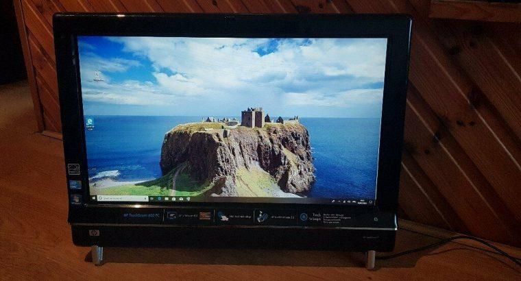 hp touchsmart 600 pc windows 10 hard drive 1tb memory 8g dvd drive webcam wifi charger