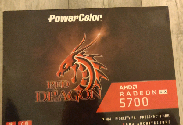 Rx 5700 red dragon graphics card