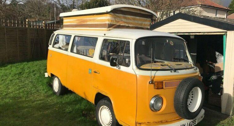 1978 VW Type 2 Devon Campervan