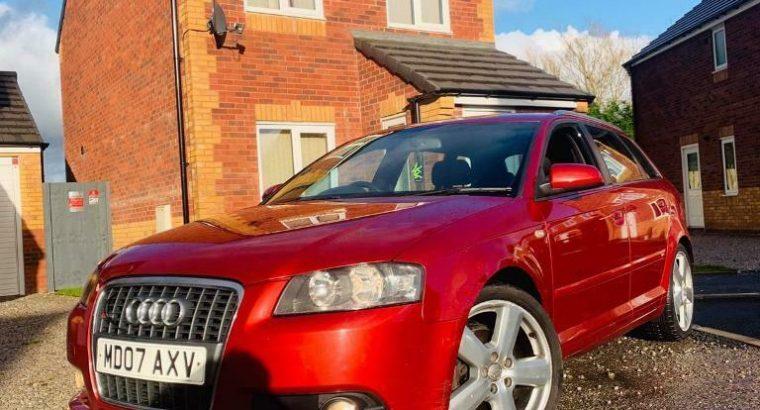 2007 Audi A3 2.0 TDI S-Line DSG Auto Flappy Peddle – Sport Back £1399 R-Swap
