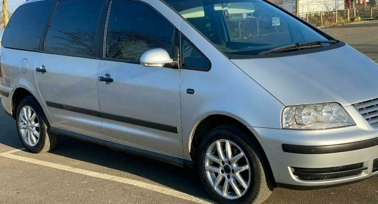 Vw sharan 1,9 tdi auto low Milage silver mpv 7 seater no ford seat Gallexy Bmw (delivery)
