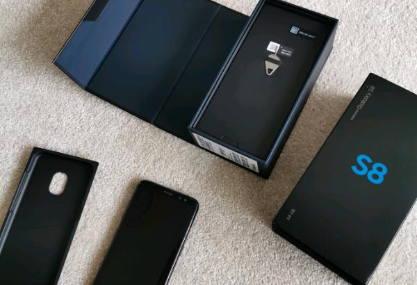 Samsung Galaxy S8 64gb Midnight Black