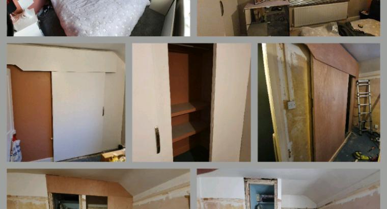 Build slide & track doors design rooms