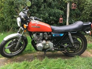 GS 550 Import, SPARES OR REPAIR, DRY STORED BOBBER BRAT RESTORE PROJECT
