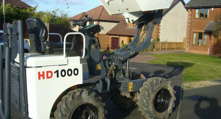 TEREX HD1000 HIGHLIFT DUMPER 2014 MODEL IN EXCELLENT CONDITION READY FOR WORK