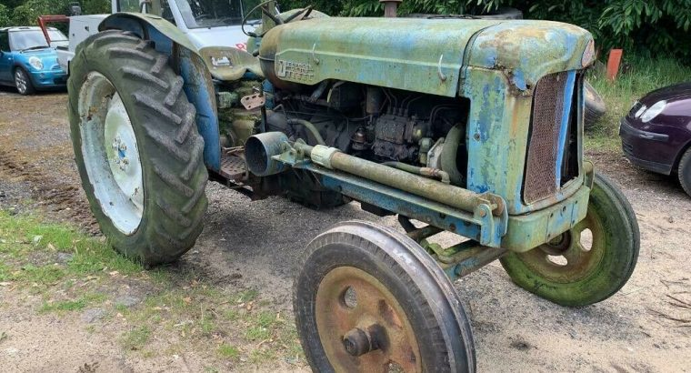 WANTED VINTAGE TRACTOR FOR RESTORATION PROJECT £2150