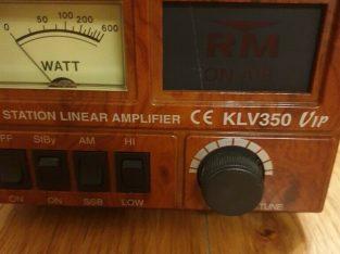 Klv 350 vip cb radio amp spares repairs