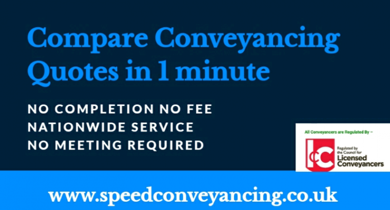 Compare Conveyancing Quotes in 1 Minute