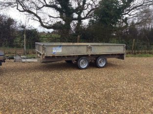 Ifor Williams 12ftx5.5ft trailer NO VAT
