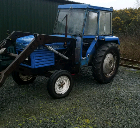 LEYLAND 344 WITH FRONT LOADER