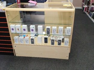 MOBILE PHONE DISPLAY COUNTER FOR SALE BARGAIN