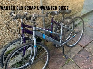 Wanted old scrap unwanted adults push bikes