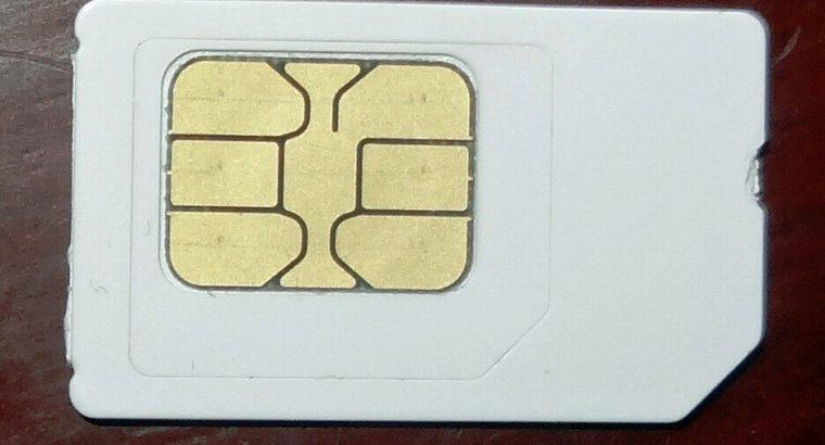 ASDA PAYG sim card with £19.52 airtime left