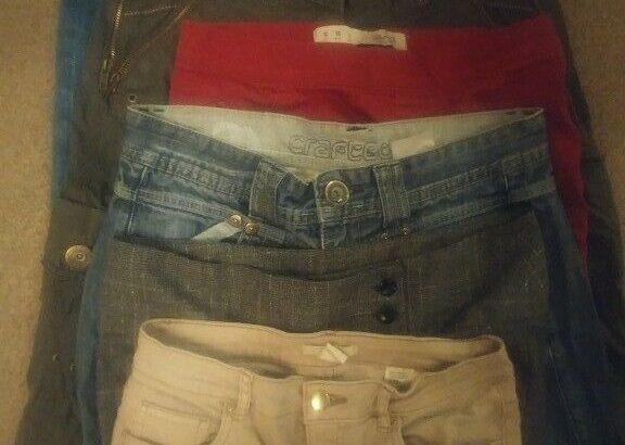 Women's Clothing Bundle Jeans Leggings Combats 8 1