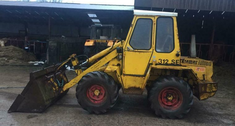 Kramer 312 se Allrad Loader with bucket