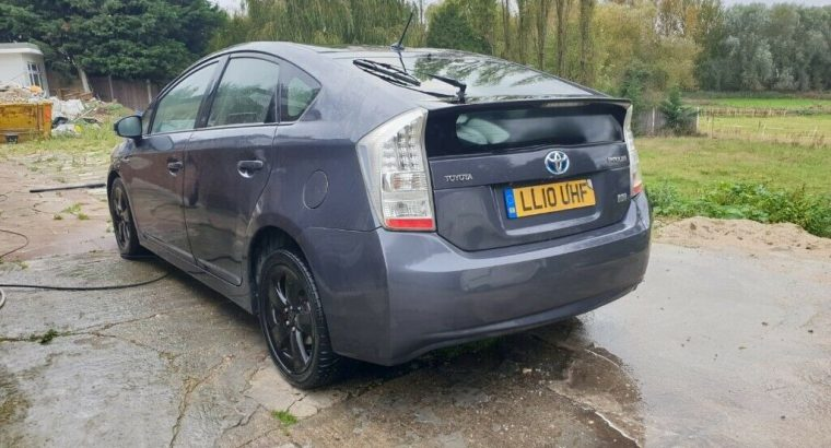 TOYOTA PRIUS PCO READY 2010 HYBRID 1.8 ELECTRIC T SPIRIT AUTOMATIC UBER BOLT NOT AURIS INSIGHT