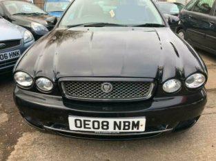 Jaguar X type 2008 Manual Diesel 2 Keys, Mot With No Issues, Tax, Front & Rear Parking Sensors