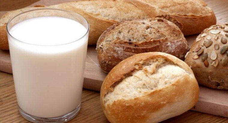 Milk & bread delivered to your door step