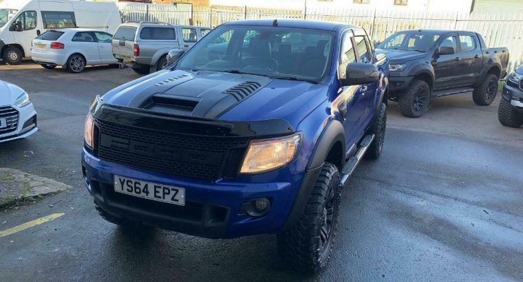 2014 ford ranger not amarok styled by XO customs