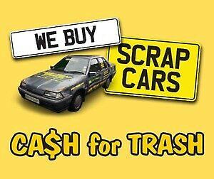 Scrap cars wanted vans