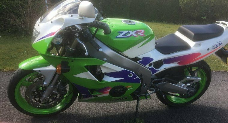 Kawasaki ZXR400 L-9, 2001 only 8600 miles and 2 owners from new immaculate