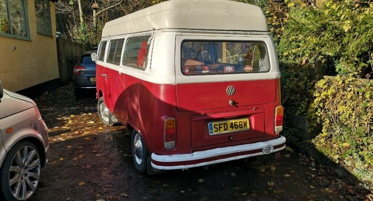1978 VW TYPE 2 CAMPERVAN