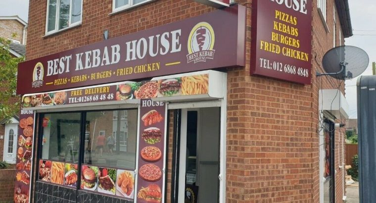 Kebab & Pizza Shop with Three Rooms Upstairs   Located in Canvey Island