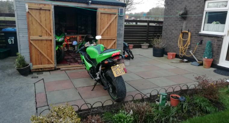 Kawasaki zx636