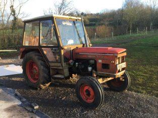 Zetor tractor model 6718