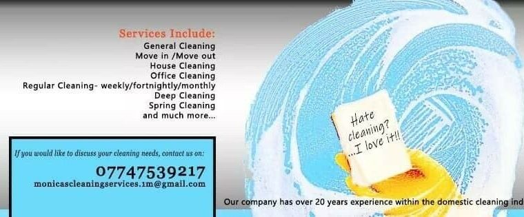 HATE CLEANING?…I LOVE IT!!!