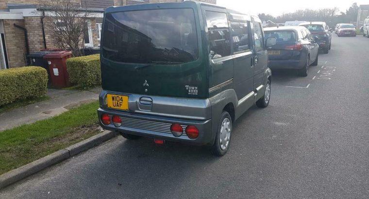 Mitsubishi town box wide mini van