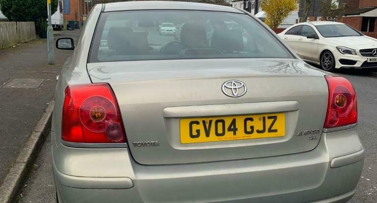 Toyota avensis 1.8 petrol t3-x