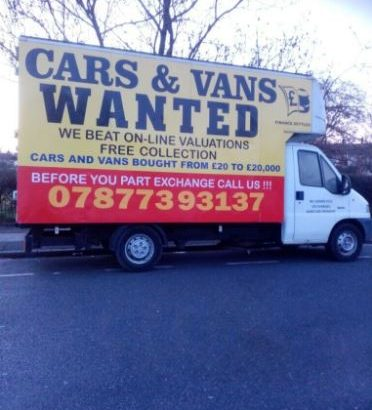 We buy any vehicle collect scrap vehicle we buy any van collect scrap vehicle cash for any truck car
