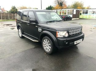 2013 13reg Land Rover Discovery 4 3.0 Tdv6 XS Perfect Runner Recon Engine