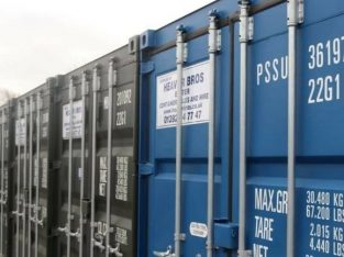 Secure storage space in brand new 20ft shipping containers in Hackney Wick £60 pw