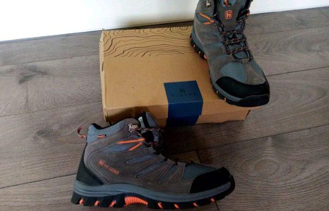 Hi Gear mens walking boots-new