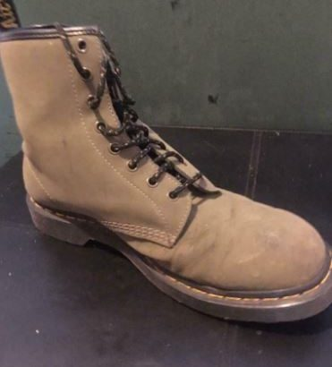 Men's Army Green Doc Martens 1890