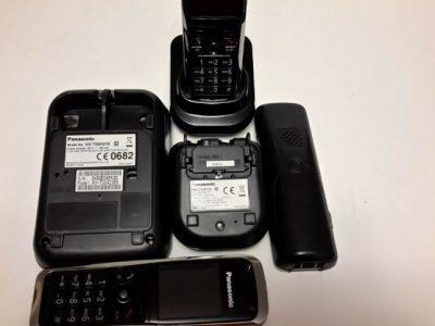 ::::::: PANASONIC KX-TG8421e TRIO Cordless Telephone System with answering machine :::::::