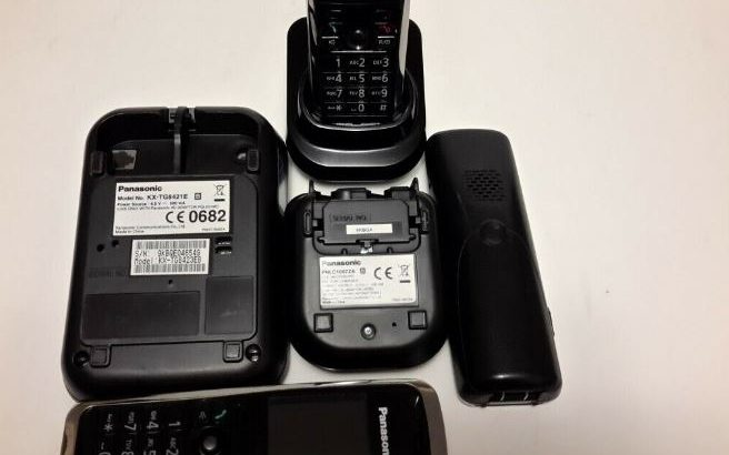 ::::::: PANASONIC KX-TG8421e TRIO Cordless Telephone System with answering machine :::::::