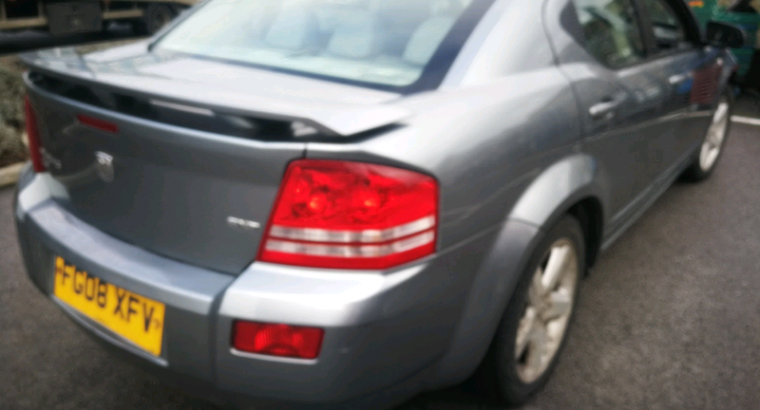 Dodge avenger 2008 sxt diesel