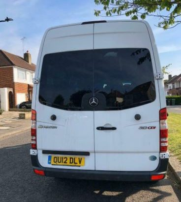 Mercedes 13 seater automatic