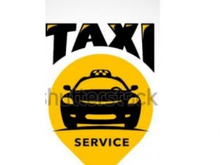 Long distance taxi service