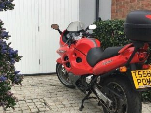 Suzuki GSX600F – low miles, starts first time. A few dink's and scratches but otherwise sound.