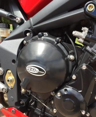 Triumph Street Triple – £££££'s of accessories and luggage.
