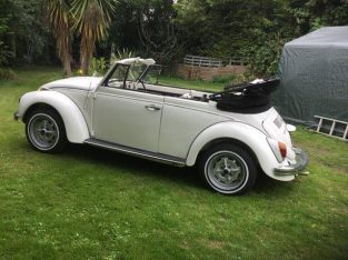 Original karmann beetle convertible 1972 RHD £11,000 ovno